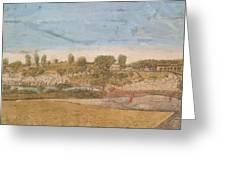 Plate IIi The Engagement At The North Bridge In Concord 1775 Greeting Card