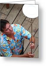 Plate Juggler 6689 Greeting Card