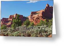 Plateau Edge Greeting Card