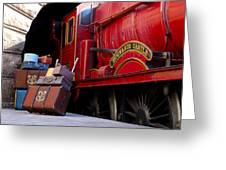 Platform Nine And Three Quarters Greeting Card