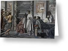 Plato's Symposium Greeting Card