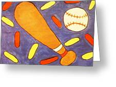 Play Ball Greeting Card