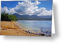 Play Time In Princeville Greeting Card