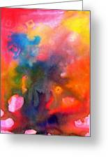 Play With Colours Greeting Card
