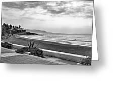Playa Burriana, Nerja Greeting Card