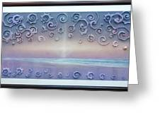 Playa Cosmos Greeting Card