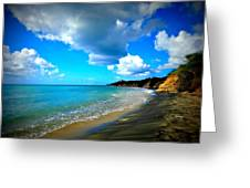 Playa Negra Greeting Card