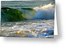 Playful Surf Greeting Card