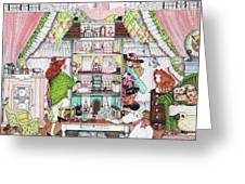 Playing House Greeting Card