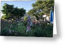 Plaza Central Apaneca 1 Greeting Card