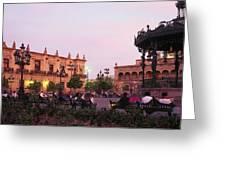Plaza De Armas, Guadalajara, Mexico Greeting Card
