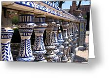 Plaza De Espana Greeting Card