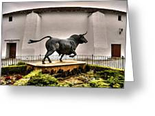Plaza De Toros - Ronda Greeting Card