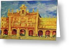 Plaza Mayor Salamanca Greeting Card