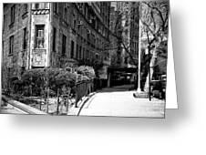 Plaza Street Greeting Card