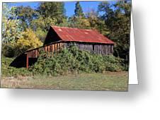 Pleasant Valley Barn 14 Greeting Card