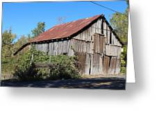 Pleasant Valley Barn 6 Greeting Card