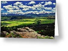 Pleasant Valley Colorado Greeting Card
