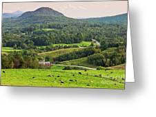 Pleasant Valley Countryside Greeting Card
