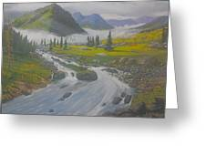 Pleasant Valley Greeting Card