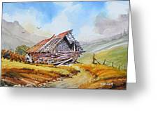 Pleasent Valley Barn Greeting Card