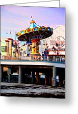 Pleasure Pier Greeting Card