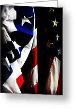 Pledge To The Usa Greeting Card