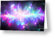 Pleiadian Stars Greeting Card