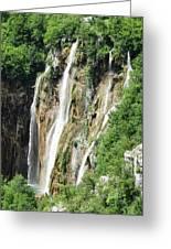 Plitvice Croatia Waterfalls 2 Greeting Card