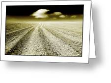 Ploughed 1 Greeting Card