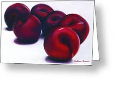Plum Crazy Greeting Card