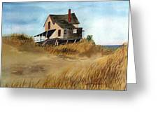 Plum Island Shack Greeting Card