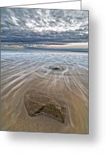 Plum Island Wave Energy Greeting Card