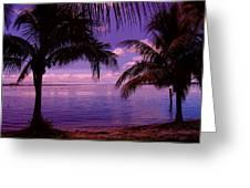 Plum Paradise Greeting Card