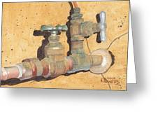 Plumbing Greeting Card