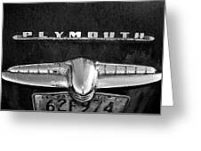 Plymouth 2 Greeting Card