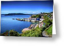 Plymouth Foreshore Greeting Card
