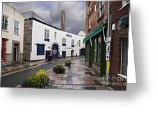 Plymouth Gin Distillery Greeting Card by Donald Davis