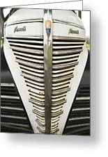 Plymouth Grille Greeting Card