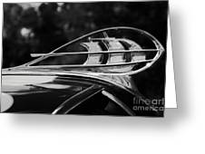 Plymouth Hood Ornament Greeting Card
