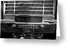 Plymouth Radio Greeting Card