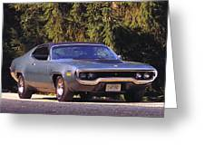 Plymouth Road Runner Greeting Card