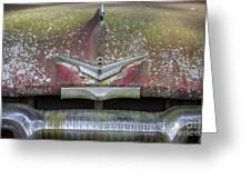 Plymouth V8 Greeting Card