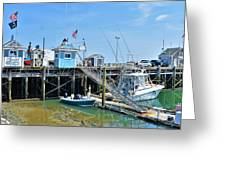 Plymouth Waterfront Greeting Card