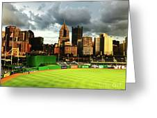 Pnc Park  Greeting Card