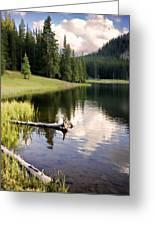 Poage Lake Greeting Card