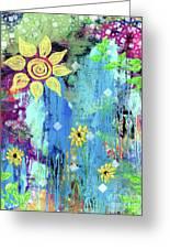 Pocket full of sunshine mixed media by julia ostara from thrive true pocket full of sunshine greeting card m4hsunfo