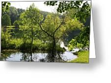 Pocket Lake Greeting Card