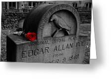 Poe Greeting Card