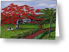 Poinciana Blvd Greeting Card